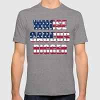 Whose Caucus Bigger T-shirt by Raunchy Ass Tees