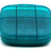 PuTwo Pill Box Deep Pill Case Durable Multifunctional Organiser