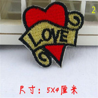 Patch Apparel Sewing Cute Badge Love Heart