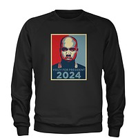 Yeezus For President Adult Crewneck Sweatshirt