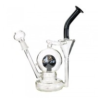 """9.5"""" Crystal Ball Recycler 14mm"""