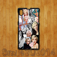 Sony Xperia Z case,marylin monroe,Sony Xperia Z1 case,Google Nexus 4 case,Google Nexus 5 case, sony Xperia Z1 cover,Sony Xperia Z cover