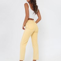 Buy Our Jesse Jeans in Yellow Online Today! - Tiger Mist