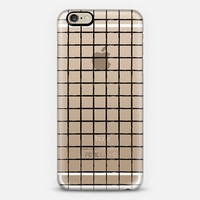 BLACK GRID iPhone 6 case by Katie Reed | Casetify