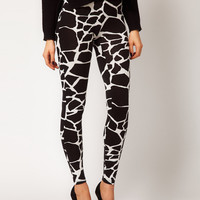 ASOS Leggings in Giraffe Print