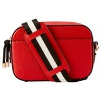 Crossbody with Web Strap - Red by Indigo | Crossbody Bags Gifts | chapters.indigo.ca