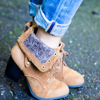 Glamping Booties - Rust