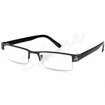 1PC Women Men Blue Film Resin Reading Glasses +1.00 1.50 2.00 2.50 3.00 3.50 4.00 Diopter Unisex Eyewear