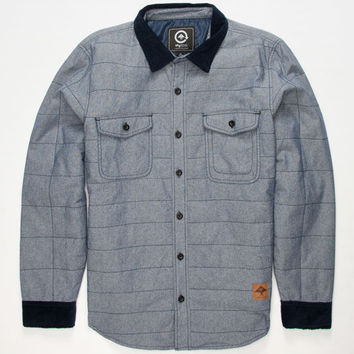 Lrg So High Road Mens Jacket Navy  In Sizes