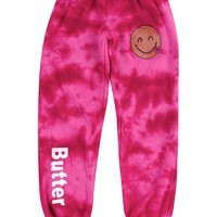 Butter Kids Silly Emoji Storm Pant - Pink