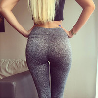 Women's Fashion Hot Sale Heart Hip Up Pants Leggings [9796897231]
