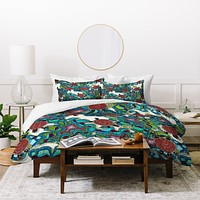 Sharon Turner Turtle Reef Duvet Cover