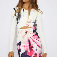 Tightrope Dress - Print