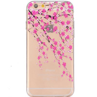 Unique Floral Case Cover for iPhone 7 5s se 6s Plus + Gift Box 45