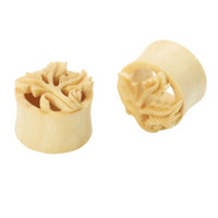 Gentawas Wood Oak Eyelet Plug 2 Pack