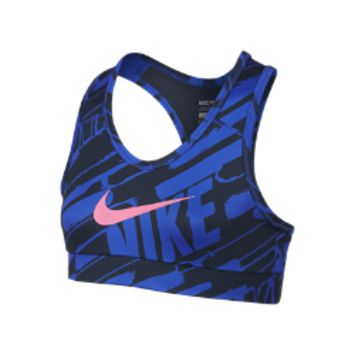 Nike Pro Hypercool Graphic Fitted Girls' Sports Bra
