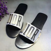 Dior Casual Fashion Women Sandal Slipper Shoes-1