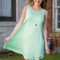 Fun Flares Dress, Mint