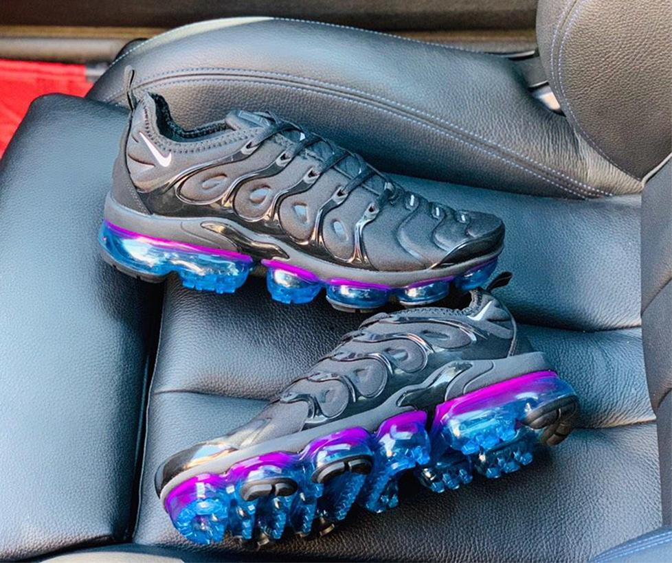 Image of Nike Air VaporMax 2019 new men are not full palm cushion sports shoes