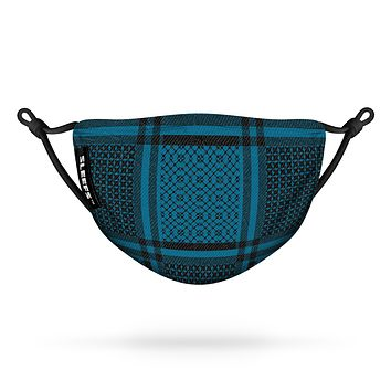 Shemagh Backpack Blue Flat Face Mask