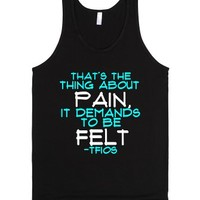 The Fault in Our Stars-Unisex Black Tank