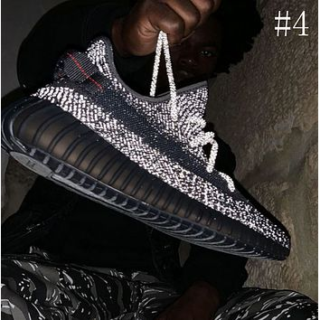 ADIDAS YEEZY 350 V2 luminous starry casual sneakers shoes