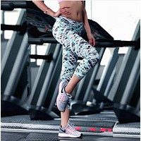 Women Printed Elastic Leggings