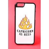 Capricorn as Hell Phone Case