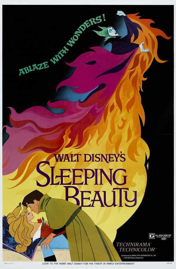 Image of Sleeping Beauty 11x17 Movie Poster (1959)