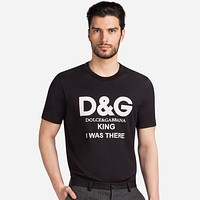 Men's D&G Dolce&Gabbana Print Shirt Top Tee