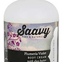 Plumeria Violet Body Cream.
