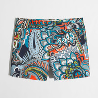 """Factory 5"""" printed stretch chino short : novelty 