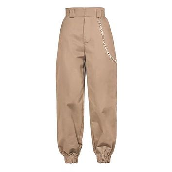 GAIA Ladies High Waist Cargo Pants