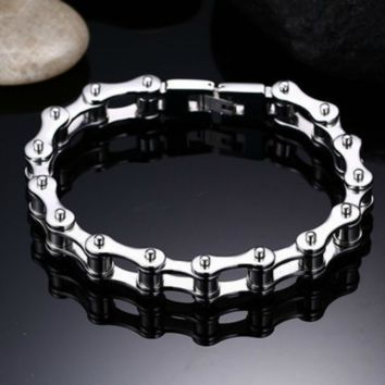 Stainless Steel Chain Bracelet