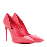 dolce & gabbana - kate patent-leather pumps