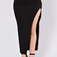 Float On Skirt - Black