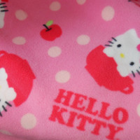 Hello Kitty Fleece childrens blanket or throw, Hello Kitty blanket, Hello Kitty throw