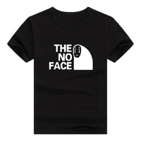 2017 New T-shirts- for Women Spirited Away Harajuku Funny Product Tops & Tees Basic Vintage Cotton  Female T-shirt