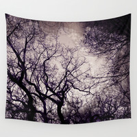 in the winter Wall Tapestry by VanessaGF