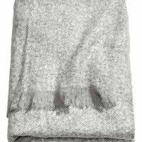 Soft blanket - Light grey - Home All | H&M GB