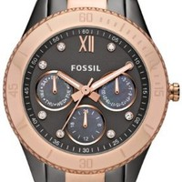 Fossil Stella Stainless Steel Watch Two-Tone