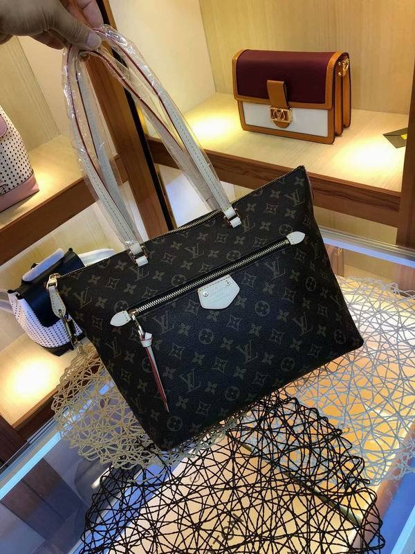 Image of lv louis vuitton womens leather shoulder bag satchel tote bags crossbody 673