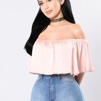 The Fashionista Top - Blush