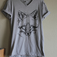Fox Screen-print T-Shirt
