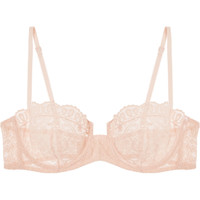 Eres - Volupté Sérénité embroidered tulle underwired bra
