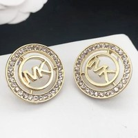 MK Michael Kors New fashion round diamond earring women