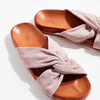 Supple Suede Twist Slide - Urban Outfitters