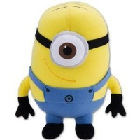 Minion Plush Toy - Despicable Me Stuffed Animal (8 Inch)