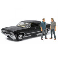 Supernatural 1967 Chevy Impala 1:18 Vehicle with Figures - Greenlight Collectibles - Supernatural - Vehicles: Die-Cast at Entertainment Earth