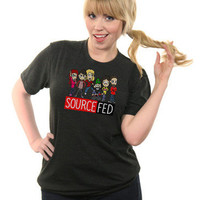 The New and Improved SourceFed Shirt- SOLD OUT   ForHumanPeoples
